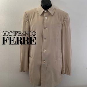 Gianfranco Ferre Mid Length Coat 40 Made in Italy